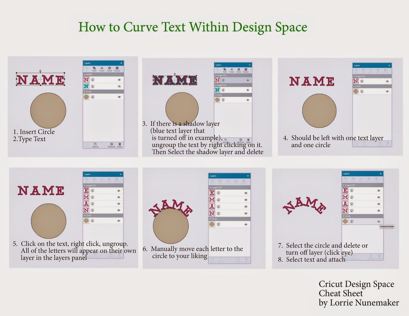 This Is A Super Quick Video Demonstrating How To Curve Text In Cricut Design Space Ive Also Cricut Explore Tutorials Cricut Explore Cricut Tutorials