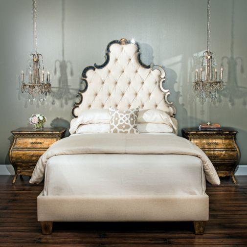 Hooker Furniture - Sanctuary Bed | Bedrooms | Pinterest | Tablero de ...