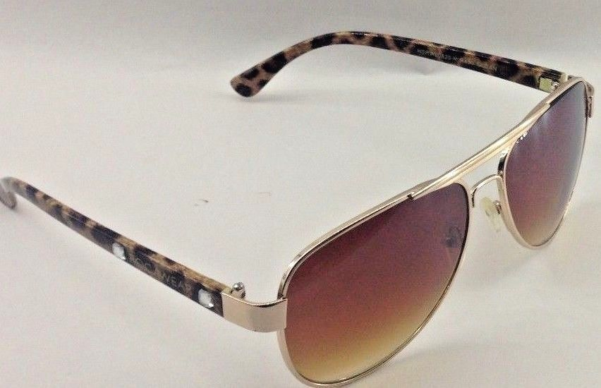 5b0d07bfd6ef1 Rocawear Leopard-Print and Rhinestone Arms Non-prescription Sunglasses   fashion  clothing  shoes  accessories  womensaccessories ...