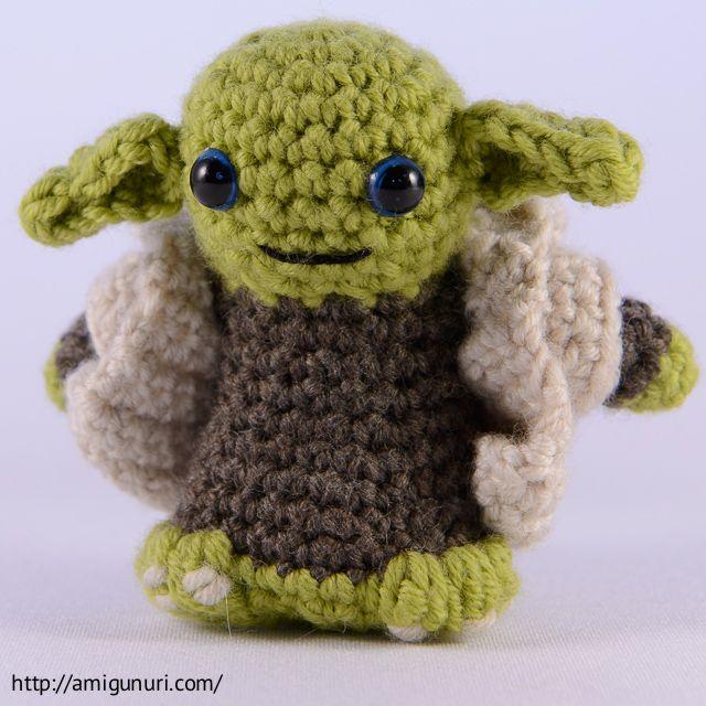 Amigurumi: Yoda! | Amigurumis | Pinterest | Patrones amigurumi y ...