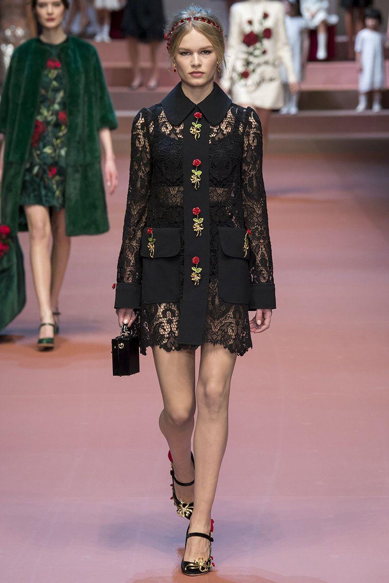 Dolce & Gabbana Fall 2015 RTW Runway – Vogue