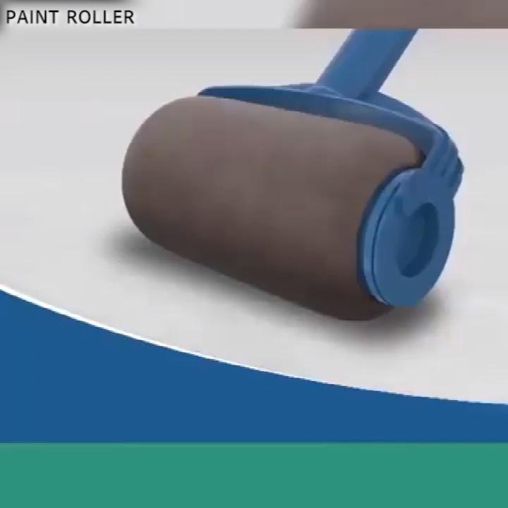8 Pcs Set Paint Roller Set With Sticks Paint Roller Pro Decorate Runner Tool Painting Brush Set Cantaps In 2020 Paint Roller Diy Wall Painting Roller Brush