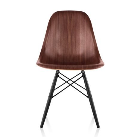 Eames molded wood chairs by herman miller take a seat for Design stuhl replik