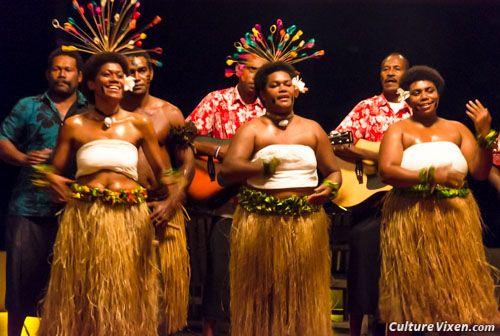 Ladies performing Meke (traditional Fijian dancing)  | Fiji in 2019