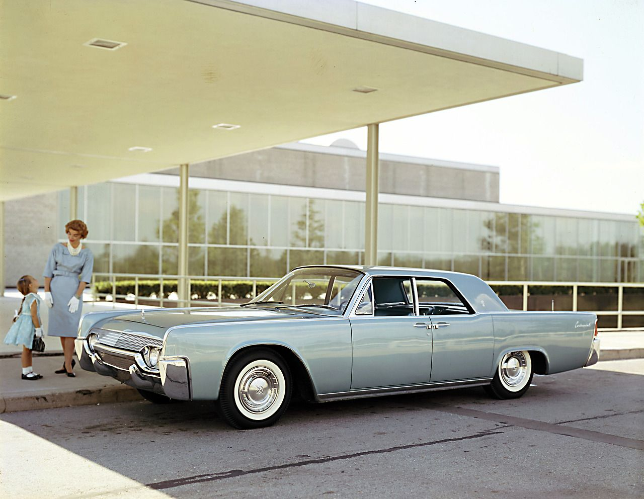 Lincoln Continental 1961 When Men Were Men And Women Were Glad To