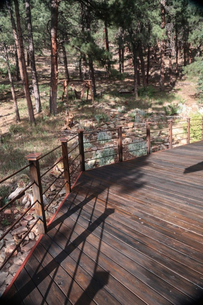 Blending Old Into New Wood, Deck & Stairs