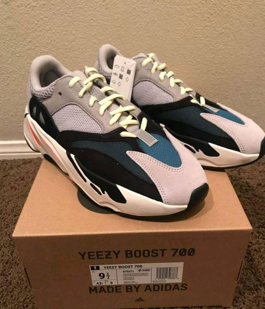 great fit 96f16 73e58 Adidas Yeezy Boost 700 Wave Runner Mens size 9.5 US Receipt ...