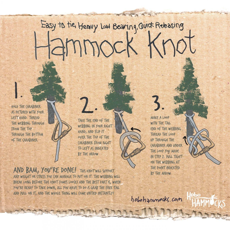 How To Tie Up A Hammock Camping Knots Hammock Knots Hammock Camping