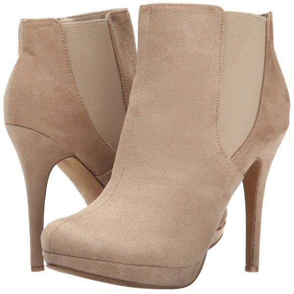 Michael Antonio Merdock - Suede (Natural) Women's Boots ($18) ❤ liked on