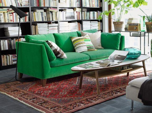 Les Plus Beaux Salons Colorés Sont Ici Elle Décoration Sofas