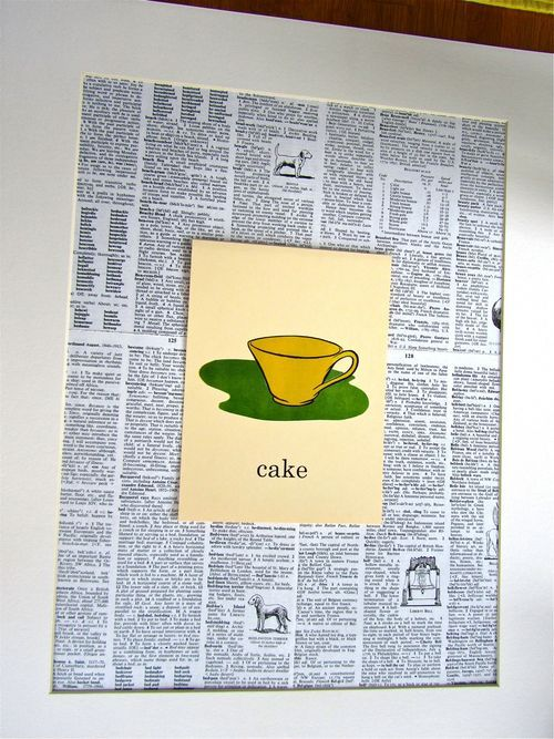 DIY Nursery Decor - How to Make Wall Art from Dictionary Pages and ...