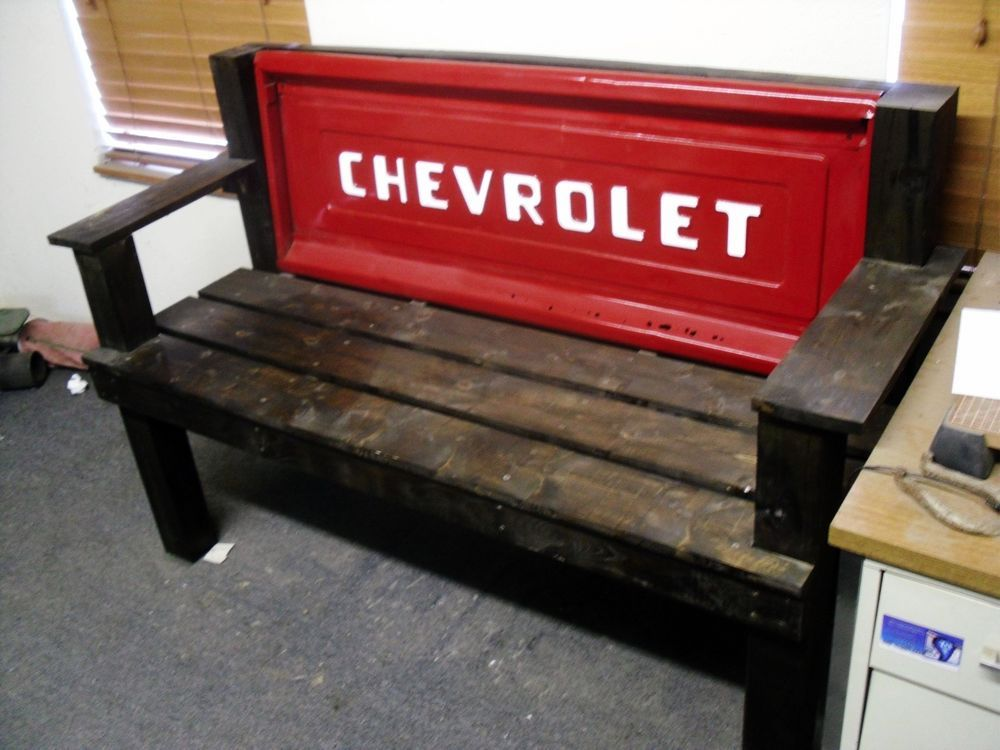 Vintage 1955 Chevrolet Tailgate Bench