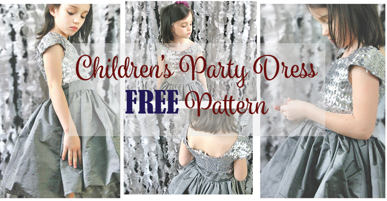 1db0e48e0 Children's Party Dress Pattern FREE   FREE Sewing Patterns for Kids ...