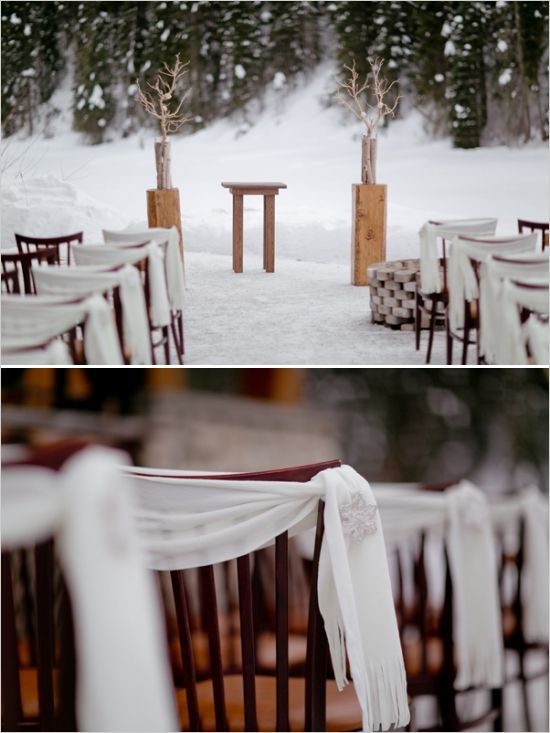 Whimsical Winter Wedding Ideas At Emerald Lake Lodge But In Royal Blue Yellow Tulle