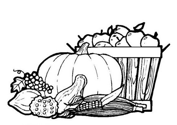 Pictures Of Cooked Turkeys To Color