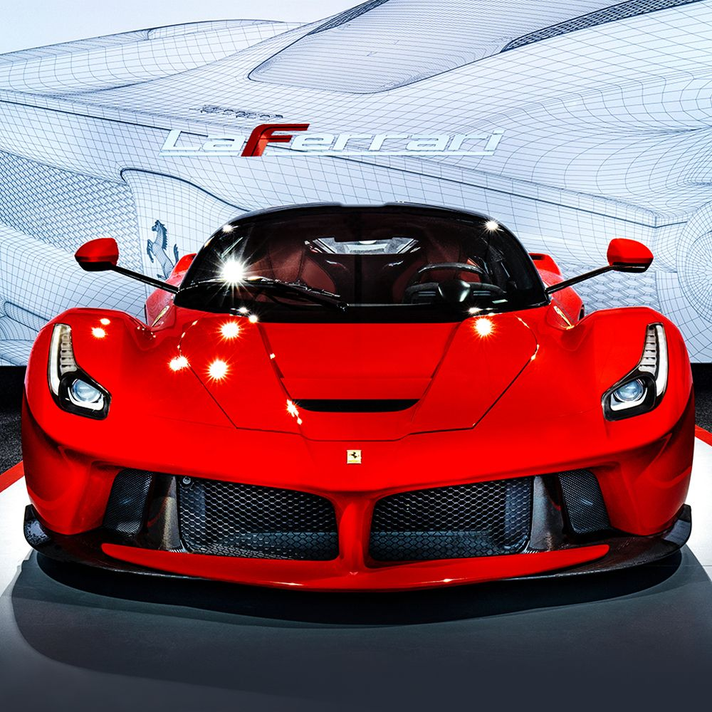 The formidable LaFerrari pictured here at the