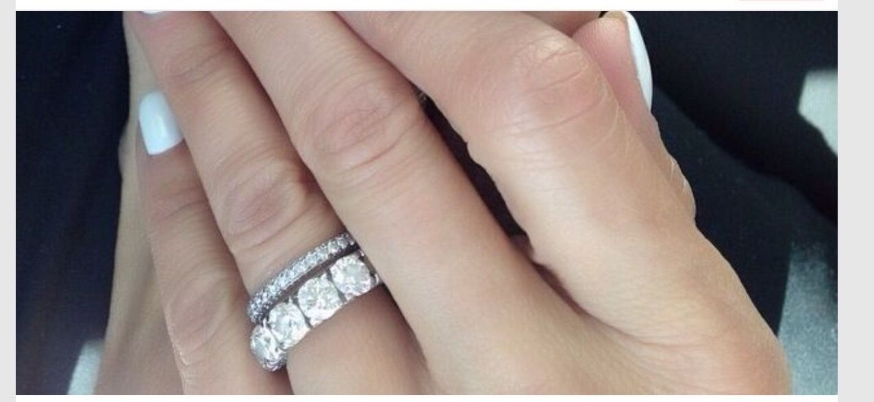 gorgeous rings stack stacked wedding