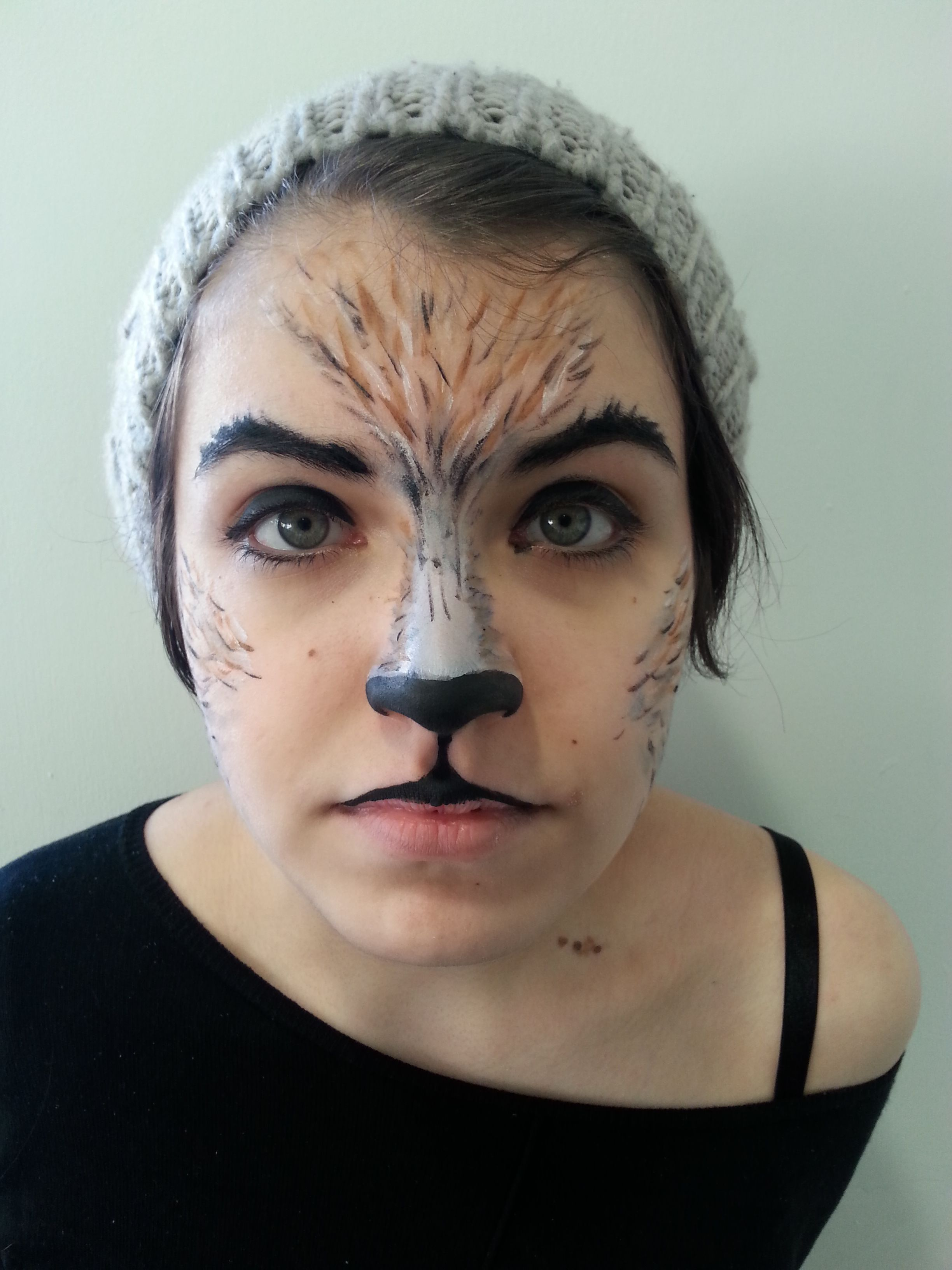 MUA Big Bad Wolf Model- Rhi Bunce Makeup By Evie Stoughton