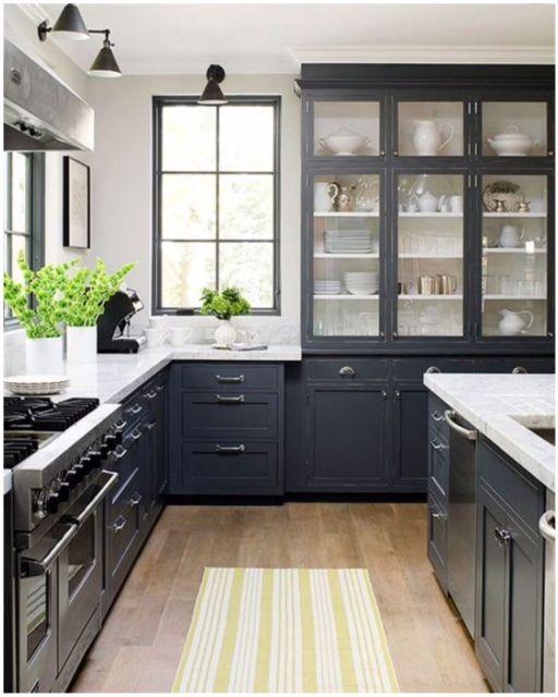 Cozinhas Black And White Kitchen Decor Homedecor Pinterest Kitchens