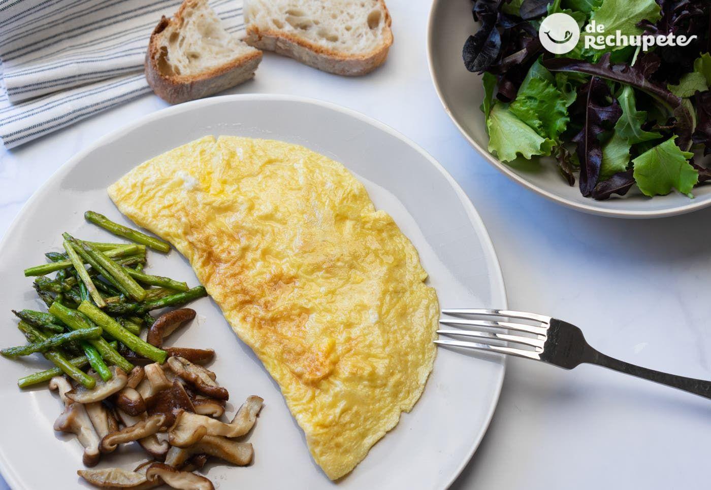 Cómo Hacer Una Tortilla Francesa Recetas De Rechupete Recetas De Cocina Caseras Y Fáciles Receta Tortilla Francesa Preparacion De Tortas Recetas De Cocina Casera