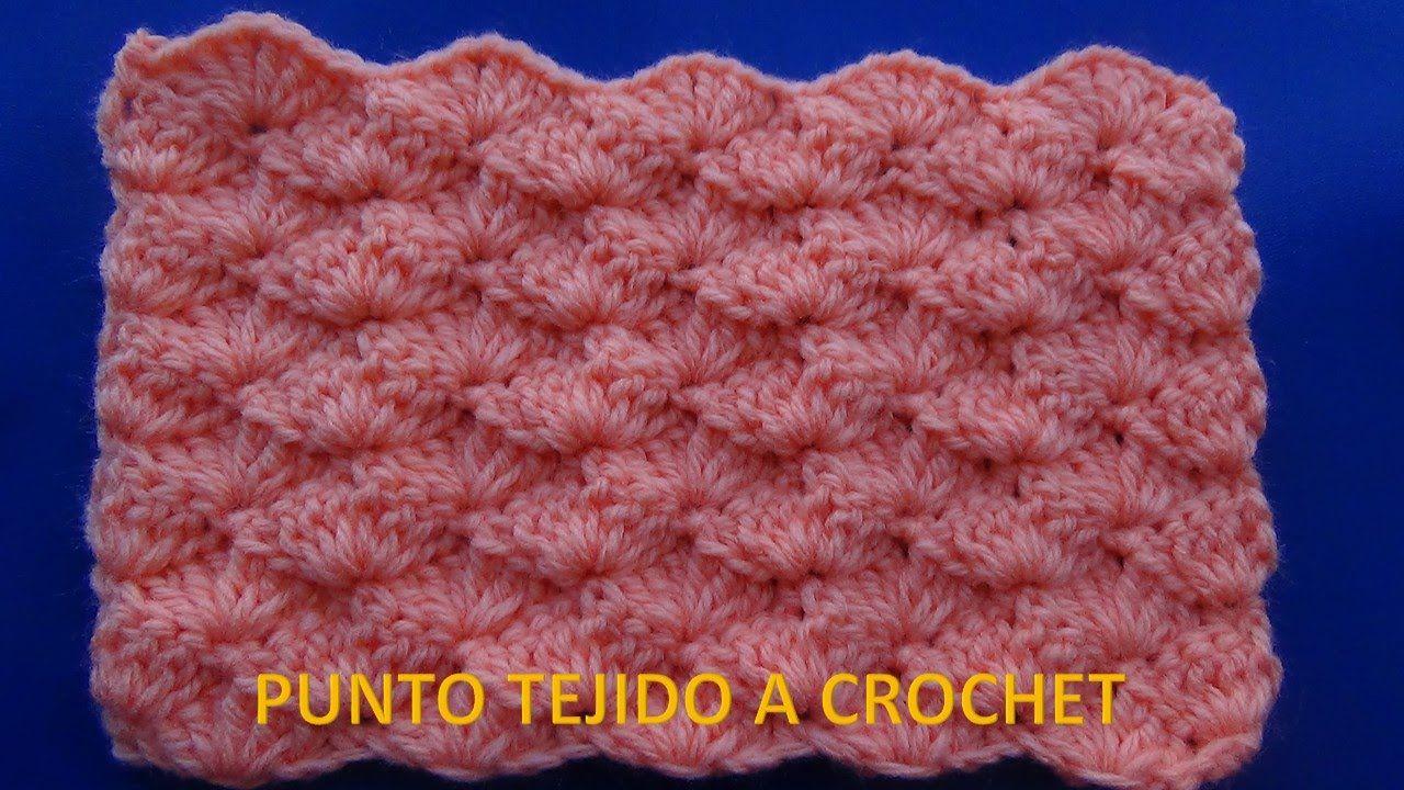 Punto abrigador # 17 para colchitas o mantitas de Bebe | Tığ işi ...