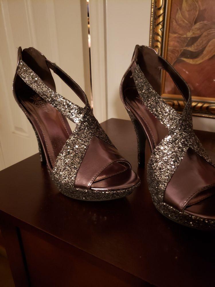 b1871ffb2f2 Silver Glitter Platform Shoes  fashion  clothing  shoes  accessories   womensshoes  heels