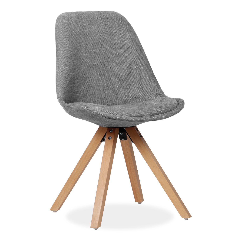 silla de diseo actual para comedor o saln cojn integrado en el asiento densidad