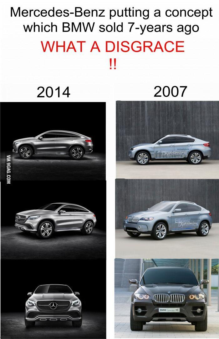 Mercedes-Benz 's DISgrace #mercedesbenz #cars #concept #X6 #SUV #BMW
