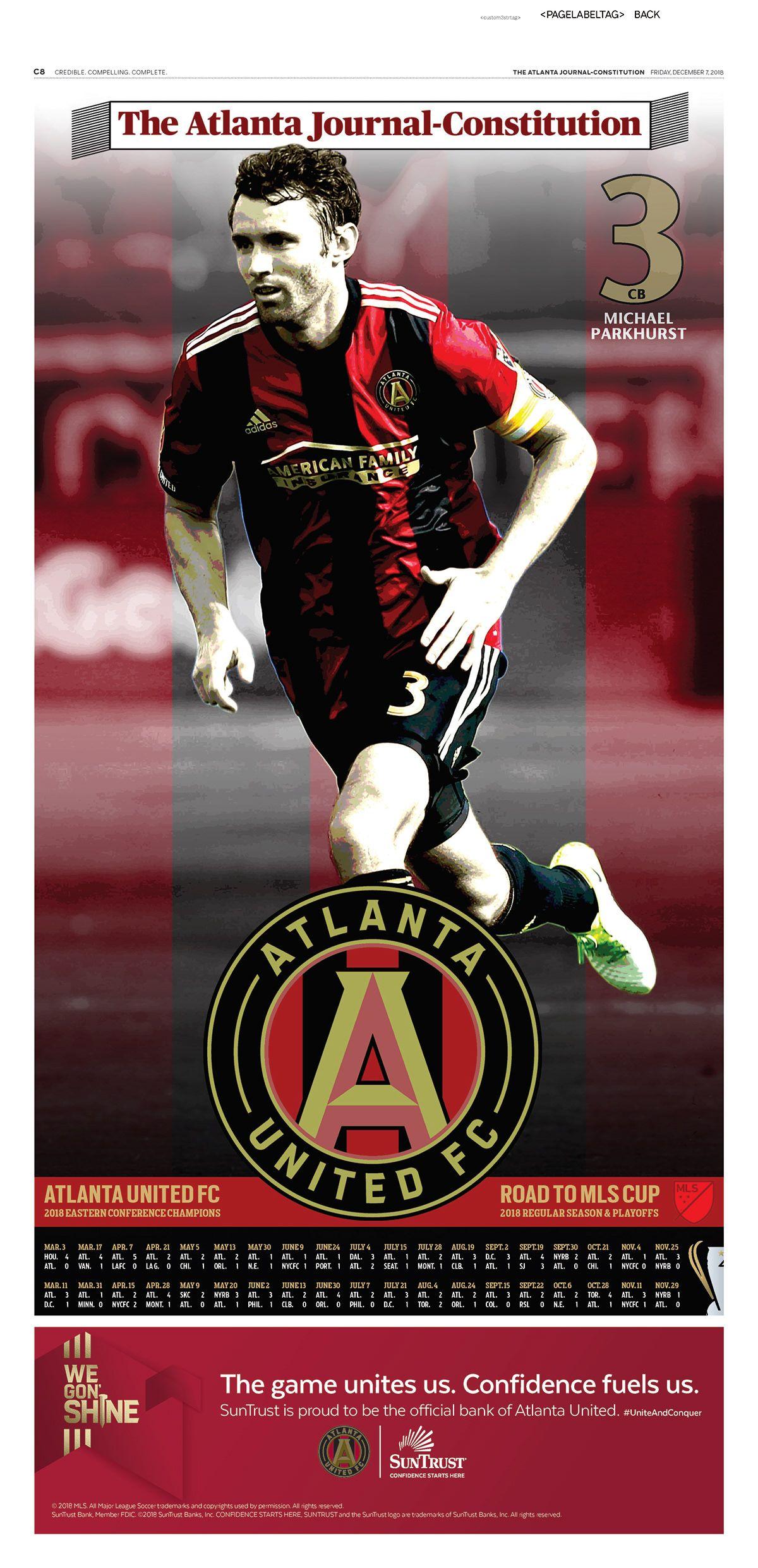 ajc atlanta united mls cup posters on