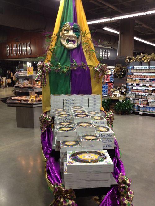 Rouses King Cakes I love the pecan praline king cake Mardi Gras