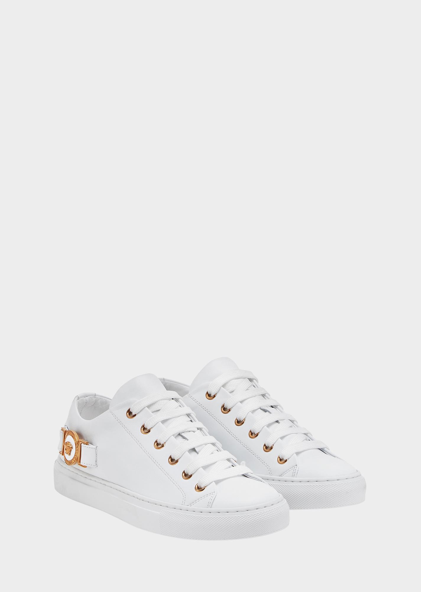 Medusa Tribute Sneakers - White