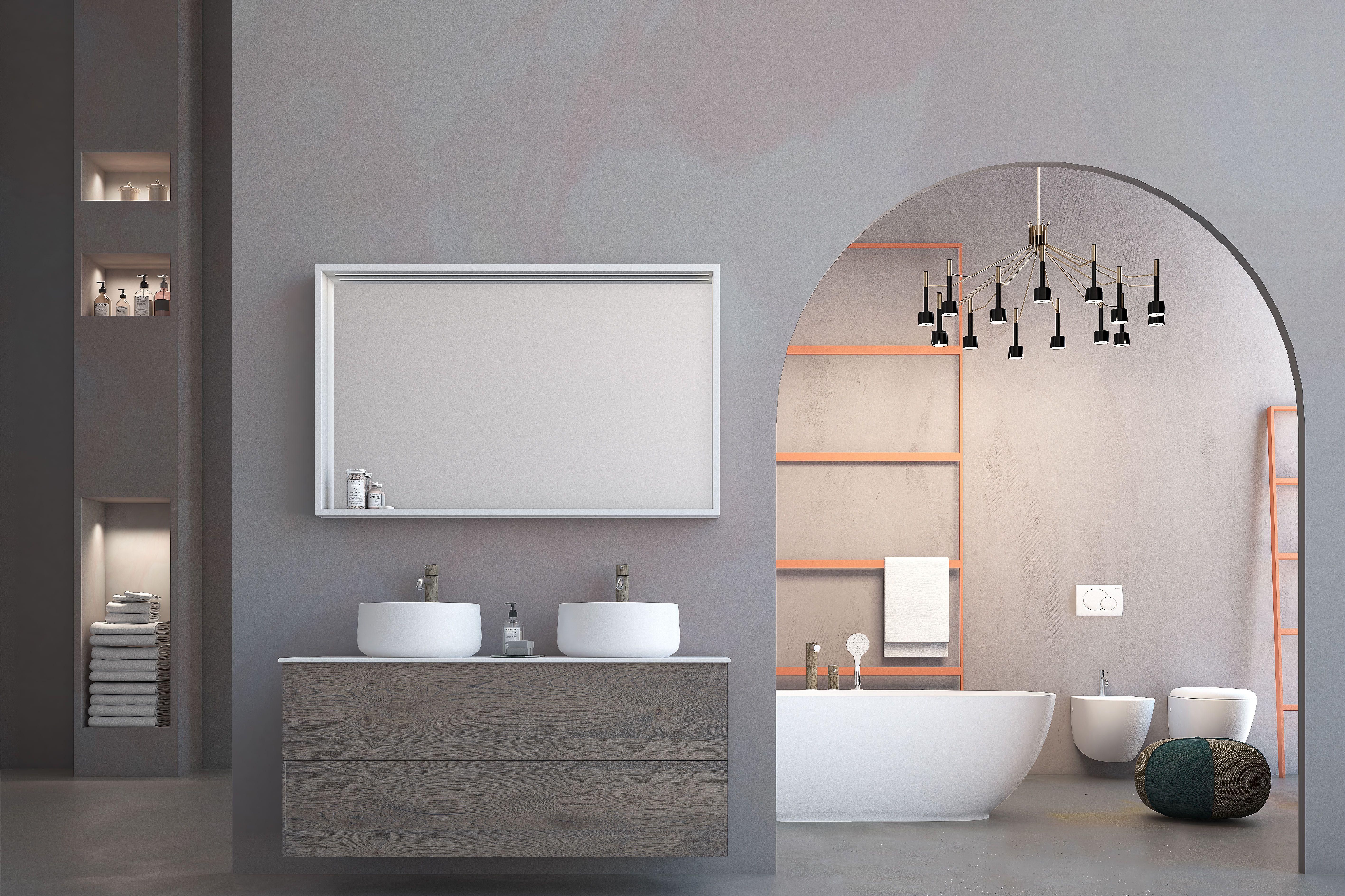 Collezione LINEA bathroom Arredamento bagno