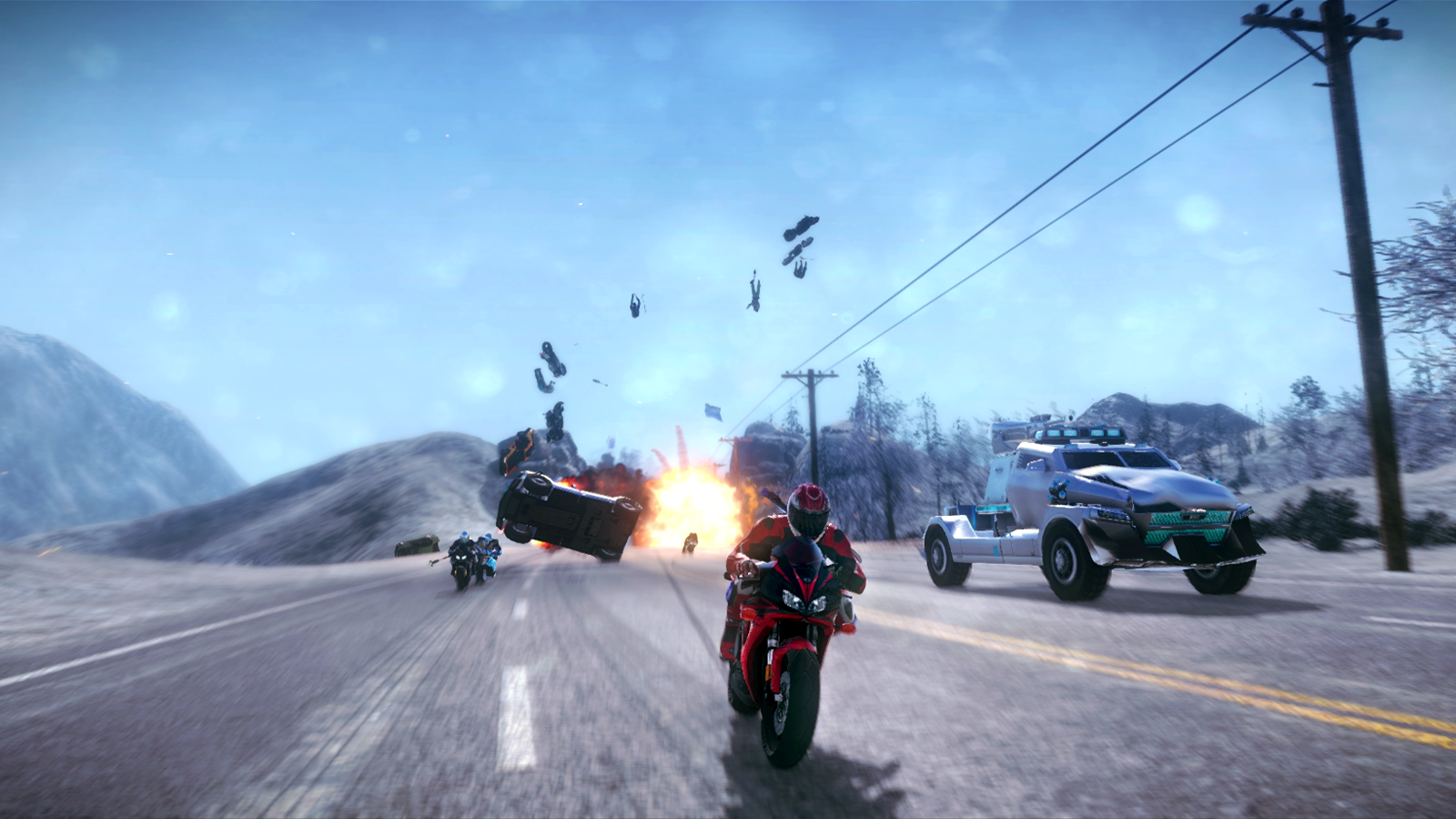 Road Redemption Review Action games