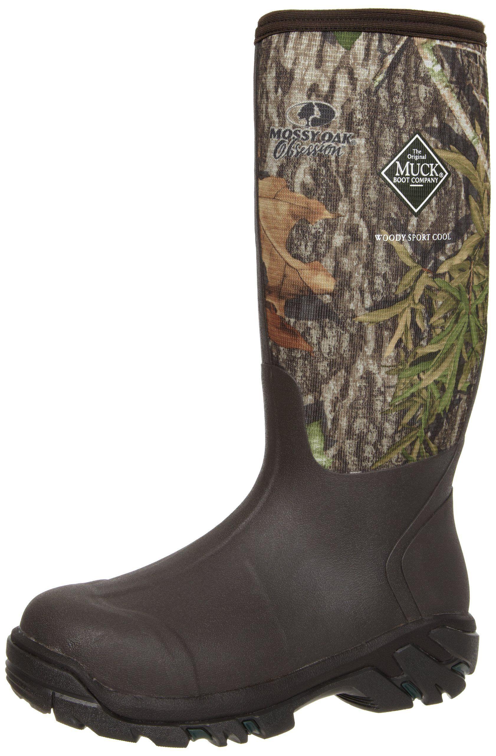 MuckBoots Woody Sport Cool Hunting Boot,Mossy Oak Obsession,7 M US Mens/