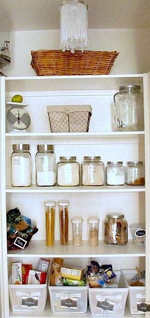organized pantry Kitchen pantries, Pantry and Organizing
