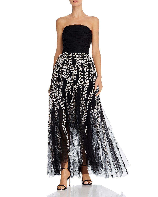 Bcbgmaxazria Strapless High Low Gown Women Bloomingdale S In 2020 High Low Gown Bcbg Gowns Strapless Dress Formal