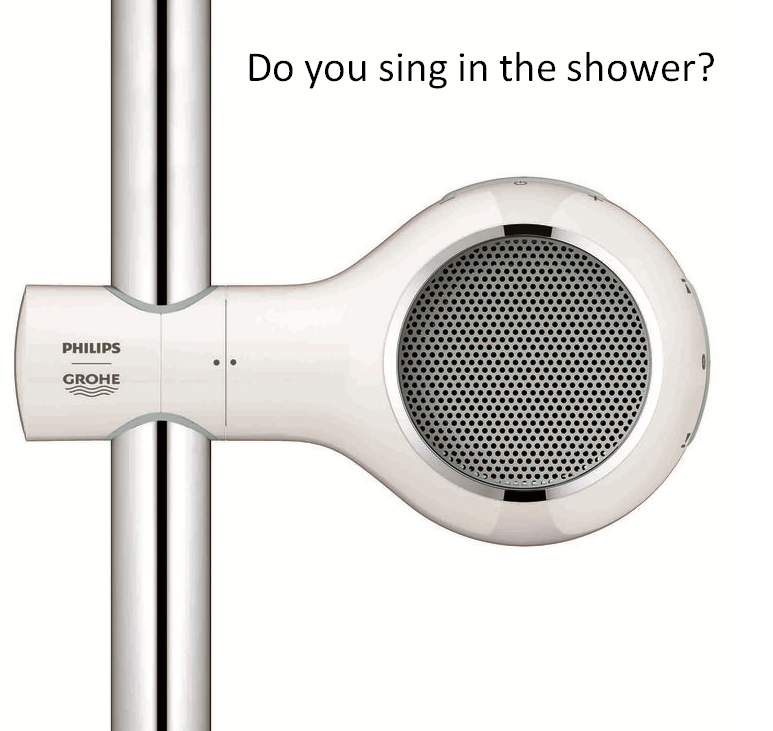 Sing in the shower? Immerse yourself with the Aquatunes waterproof ...