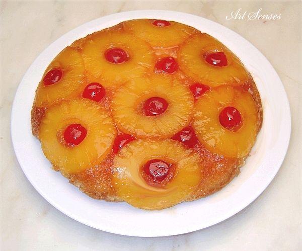Торта с ананас | Art senses – артистични идеи за интериор и градина