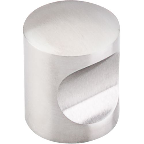 Stainless Indent Knob 1'' 22