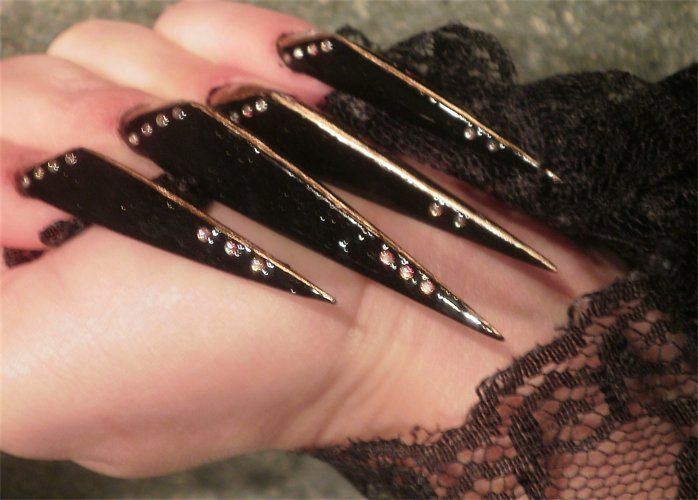 Stiletto nails - long nails | Nails - Stiletto | Pinterest | Long ...