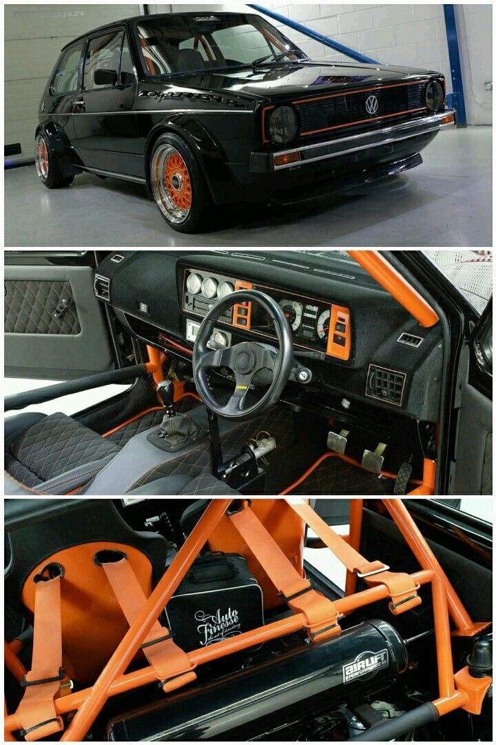 Volkswagen Golf Mk1 Rabbit Gti Caribes Vw Vw Mk1 Autos Vw
