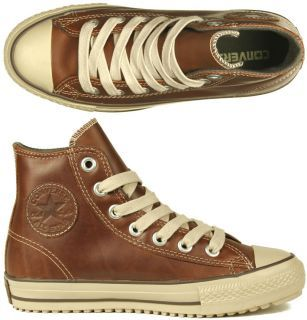 9bba87608cba65 Converse Schuhe All Star Boot Mid leather pine cone brown braun Winter