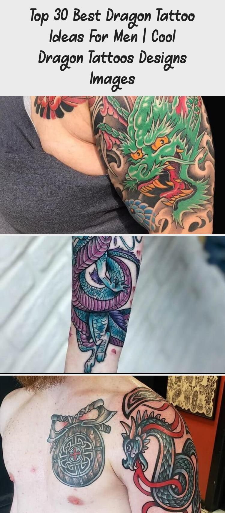 Photo of Flying Dragon Tattoo on Arm – Die 30 besten Tattoo-Ideen für Drachen für Männer | Cooler Drache …