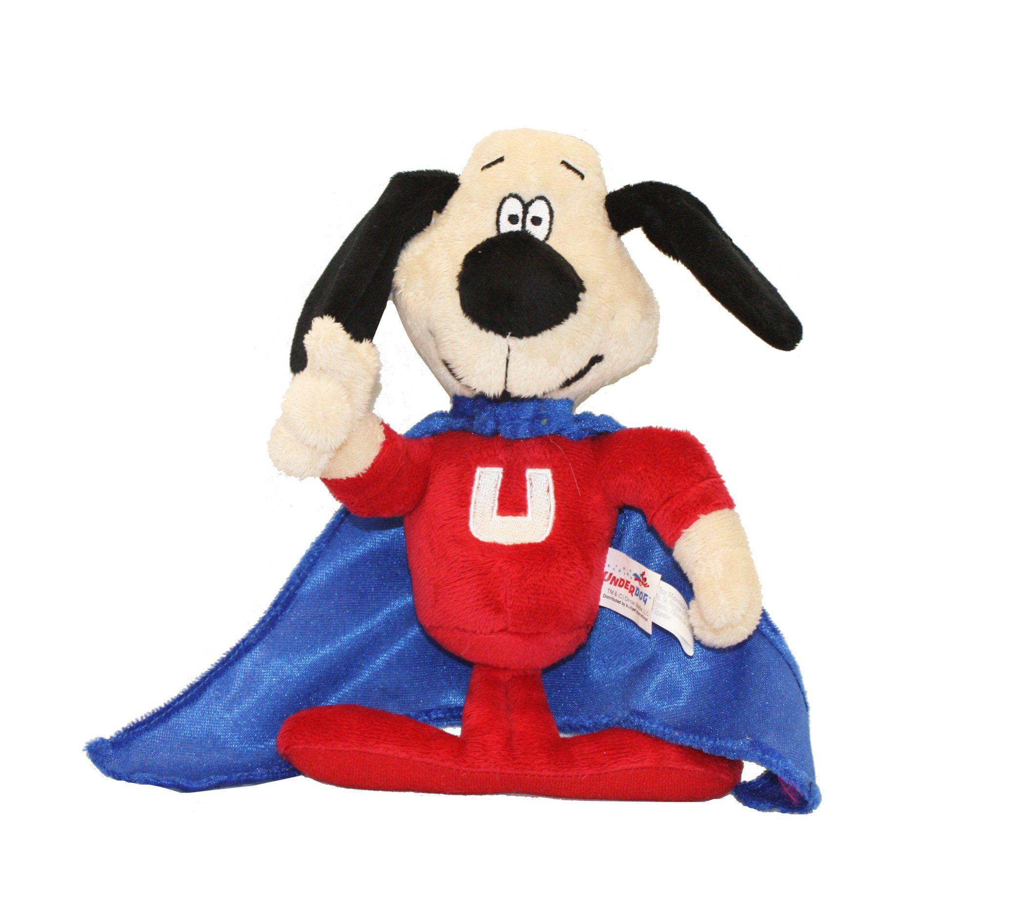 Multipet Officially Licensed Underdog Talking Dog Toy 9inch