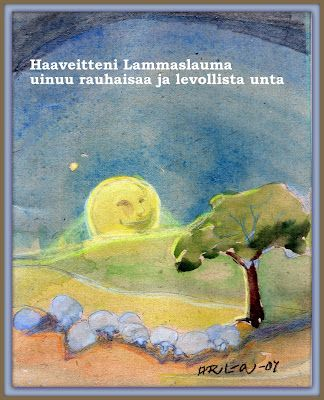 Anne-Riitan piirroksia ja kuvia, Artbox by Anne-Riitta: Haaveitteni lammaslauma