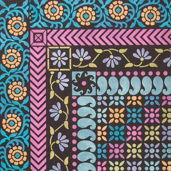 Sari inspirada en la India muebles Fronterizos Plantillas por Royal Design Studio Plantillas