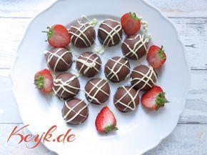 Yogurette Selber Machen - Erdbeer Yoguretten Pralinen