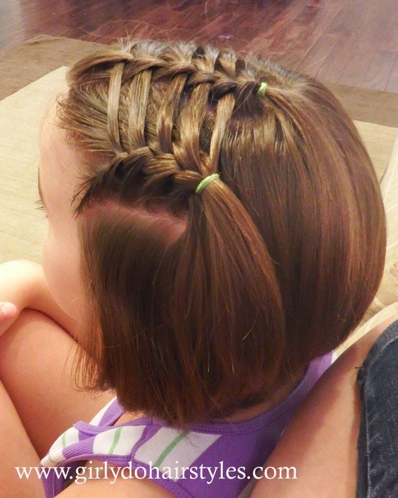 Cute easy hairstyles that kids can do - 25 Little Girl Hairstyles You Can Do Yourself Easy Girl Hairstyleskids