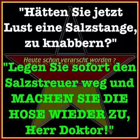 Aber Sofort Salzstangen Doktor Salzstreuer