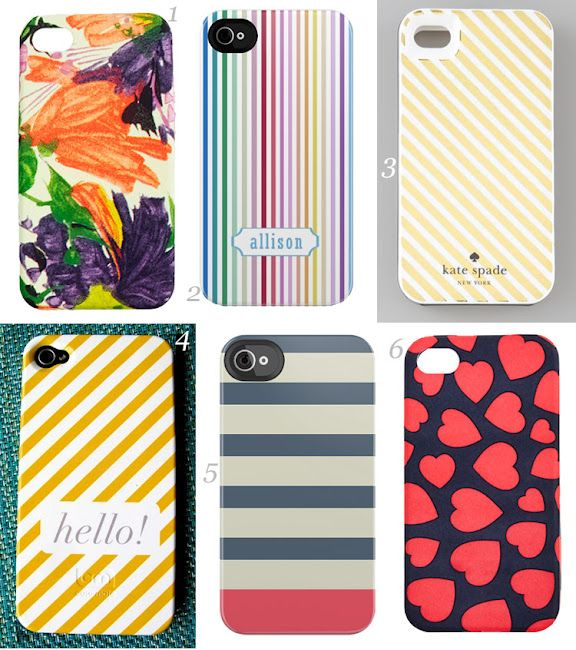 Über Chic for Cheap has a whole slew of stylish iphone cases that I adore